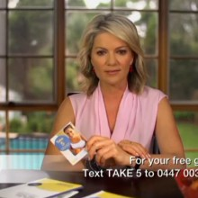 Cancer Council Take 5 - Television Commercial