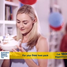 Australia's biggest morning tea - Television commercial